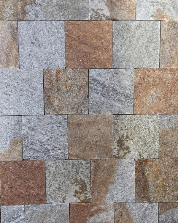 PAVES ou parements 15x15 gneiss du caroux