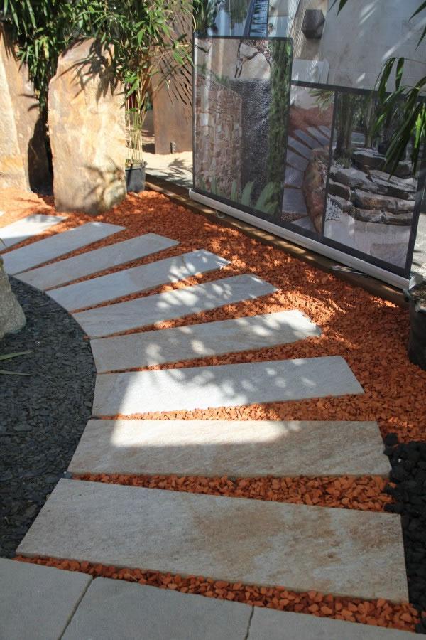 plaques gneiss du caroux grenaillées