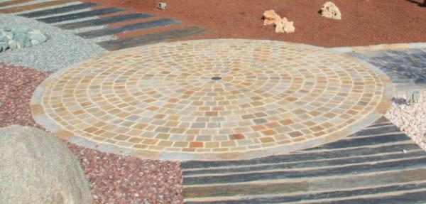 pavés quartzite du brésil