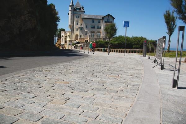 Biarritz Luserne et Gneiss grenaillé