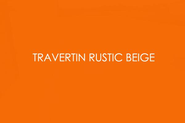 Travertin Rustic beige