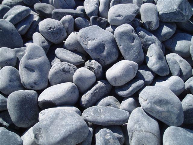 Galets marbre noir