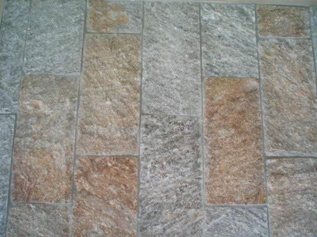 Bandes gneiss du Caroux clivées