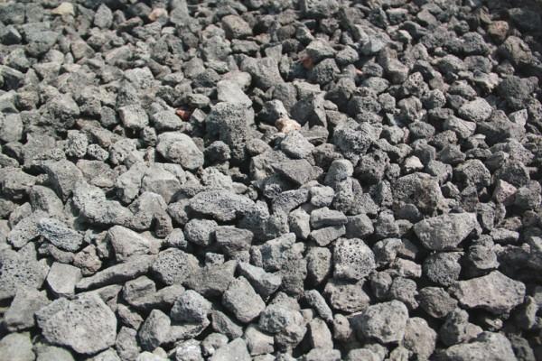 Pouzzolane noire