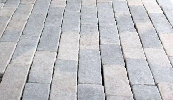 pavage calcaire du causse en bande multi ep 4,5cm
