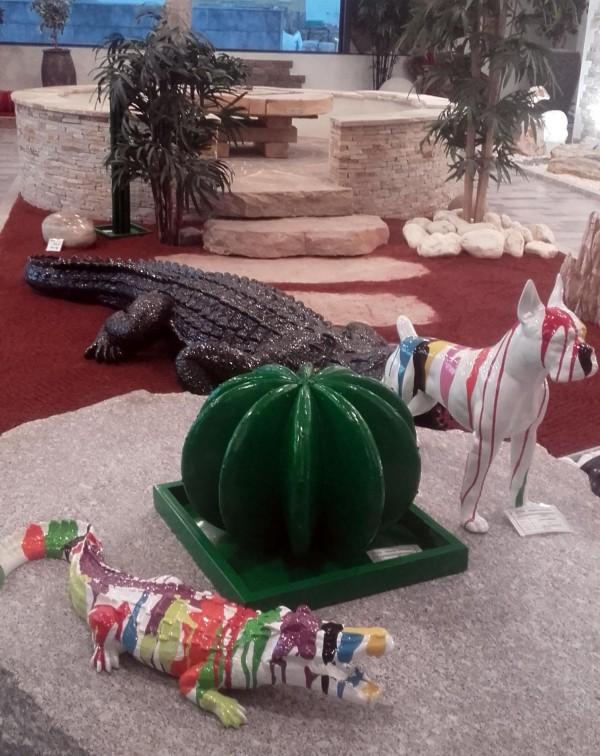 Animaux et Cactus
