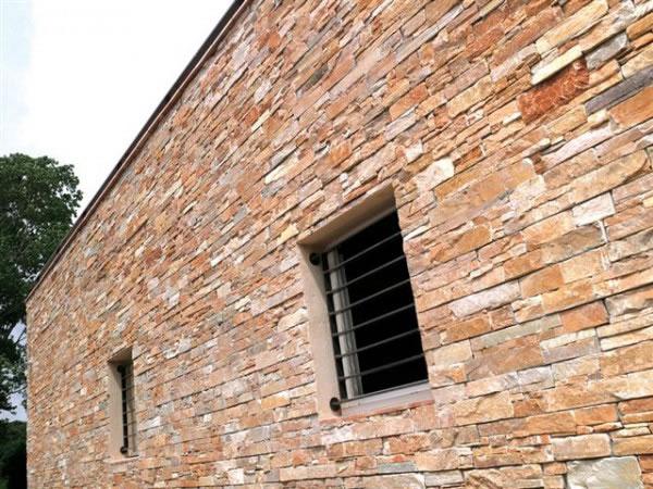 Easy panel quartzite rouille sur support béton