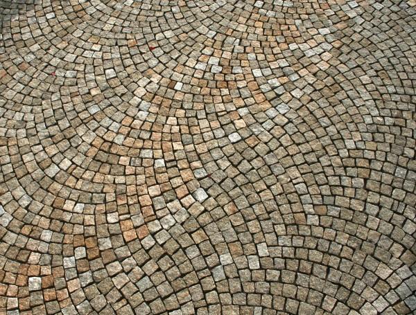 Pavés Granit Jaune