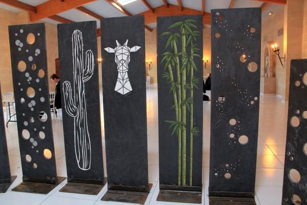 Plaques ardoise Astral, Désert, Safari, Zénitude et Voie Lactée