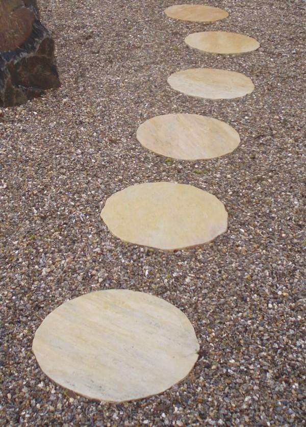 Pas japonais Quartzite Lune