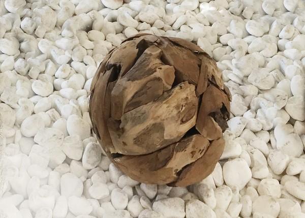 Sphère en Teck
