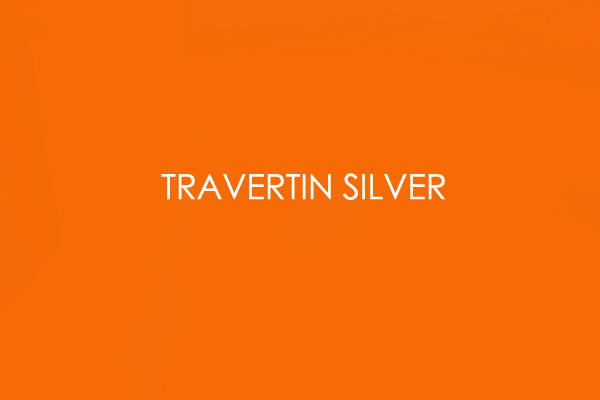 Travertin Silver